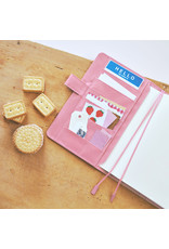 Hobonichi {sold out} A5 Strawberry Biscuit Hobonichi Techo 2021