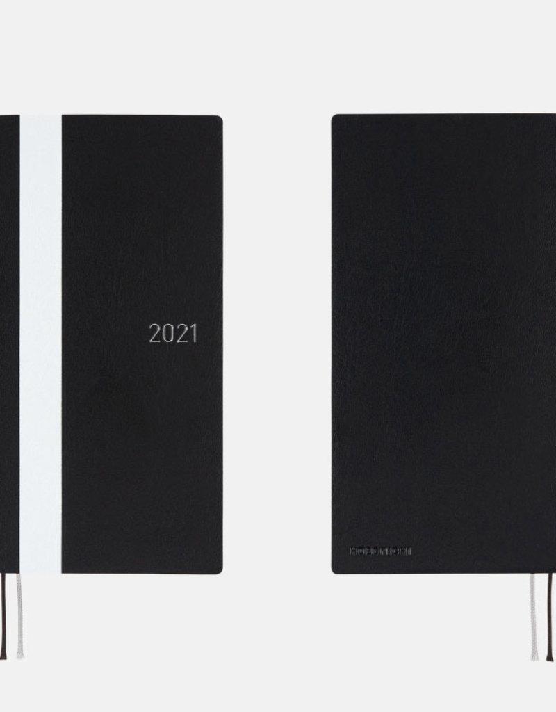Hobonichi Weeks Black White Line Hobonichi Techo 2021 (April Start)