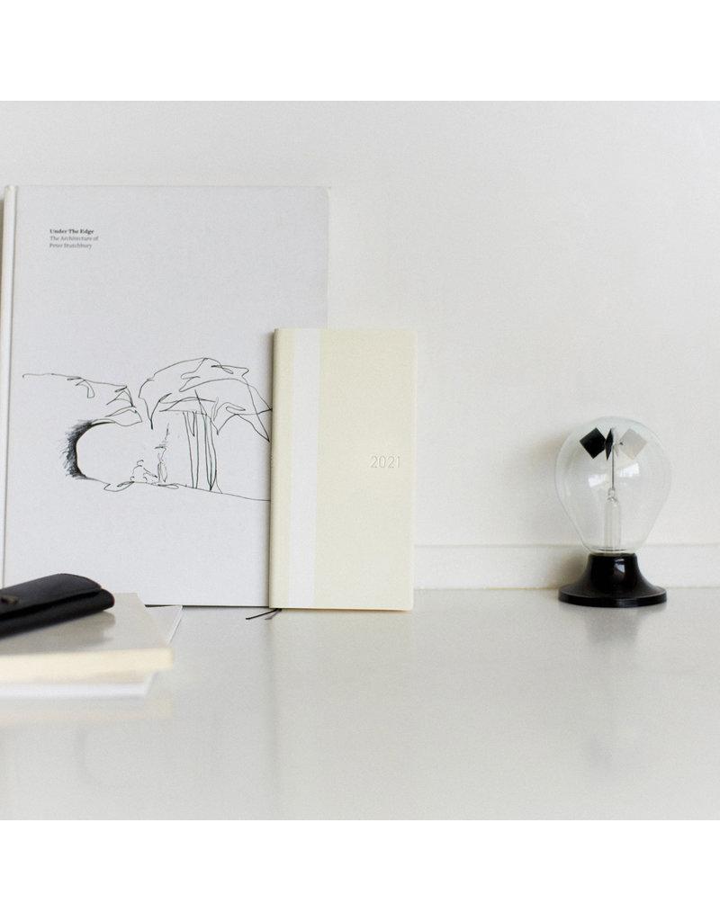 Hobonichi {sold out} Weeks Ivory White Line Hobonichi Techo 2021