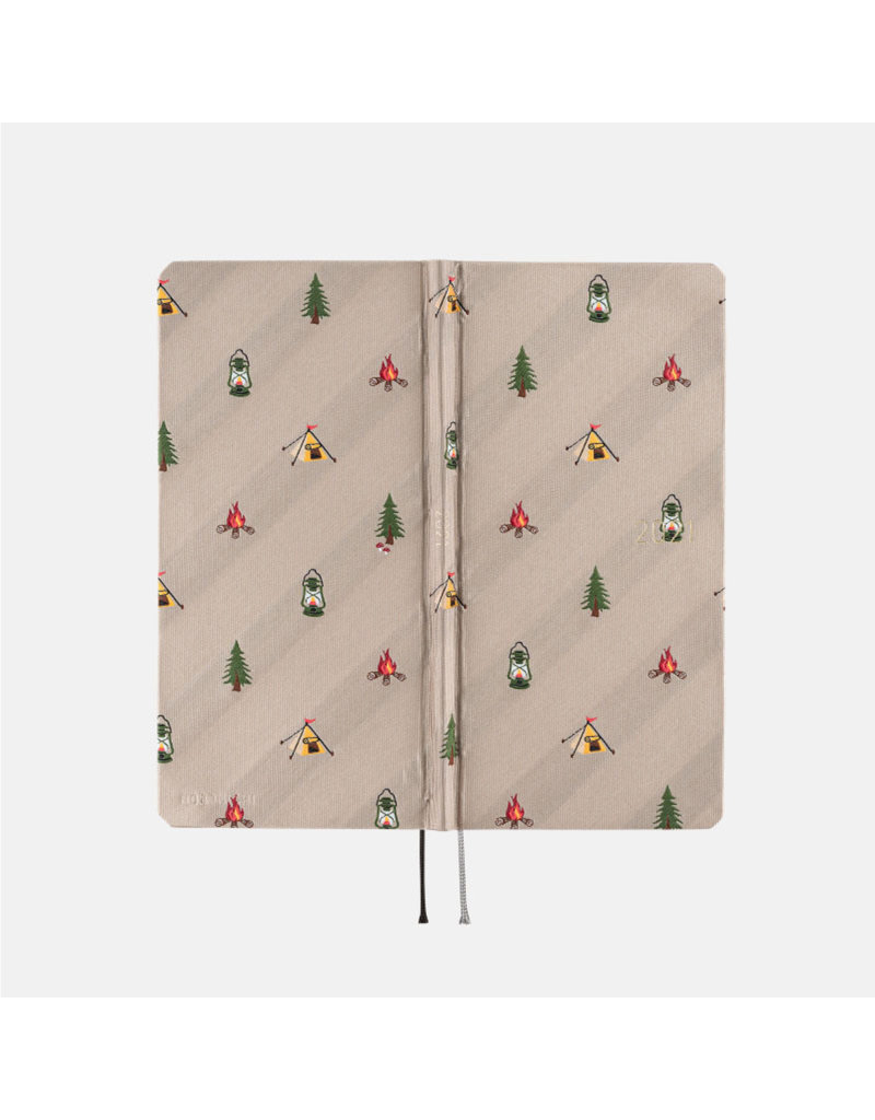 Hobonichi {sold out} Weeks Bow & Tie: Camp Hobonichi Techo 2021