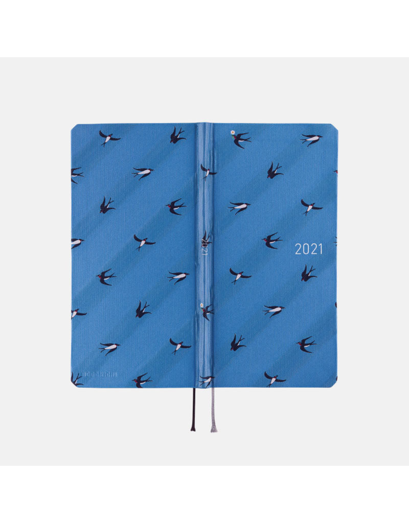 Hobonichi {sold out} Weeks Bow & Tie: Swallows Hobonichi Techo 2021