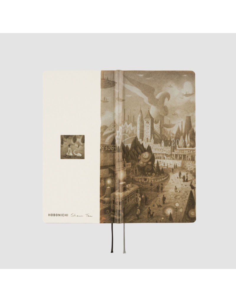 Hobonichi {sold out} Weeks Shaun Tan: Arrival Hobonichi Techo 2021