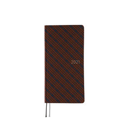 Hobonichi {sold out} Weeks Warm Plaid Hobonichi Techo 2021