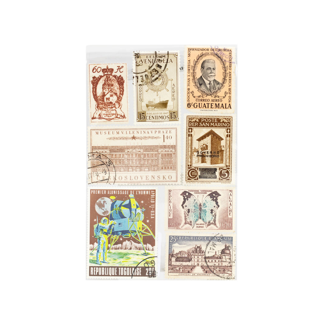 Decorative Vintage Stamps