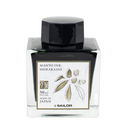 Sailor Manyo Bottled Ink Shirakashi 50ml