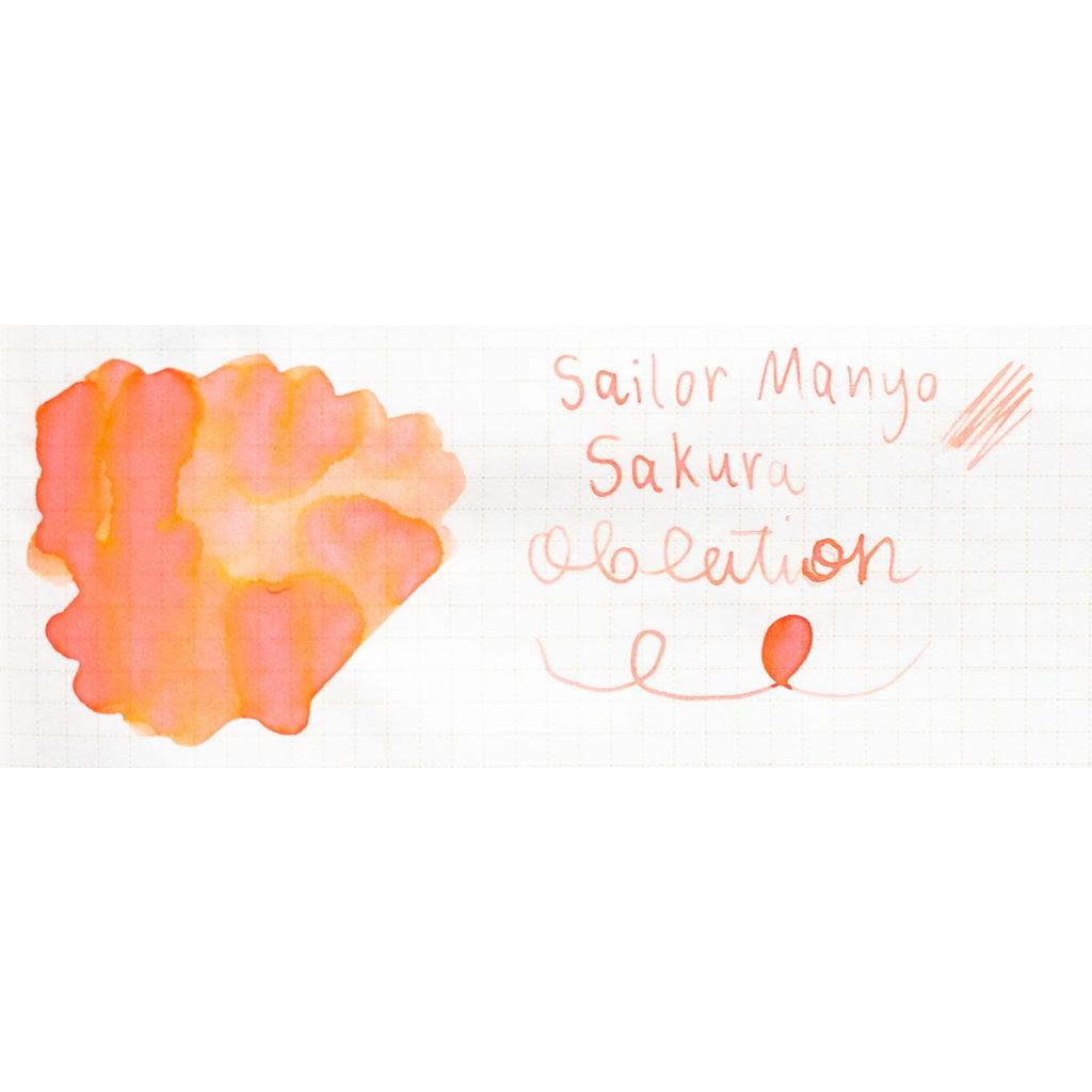 Sailor Manyo Bottled Ink Sakura 50ml