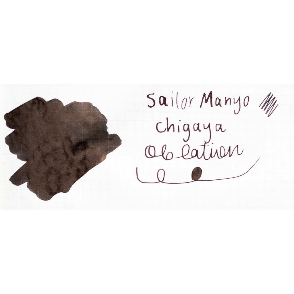 Sailor Manyo Bottled Ink Chigaya 50ml