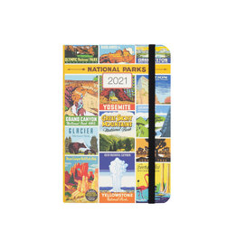 cavallini 2021 National Parks Weekly Planner