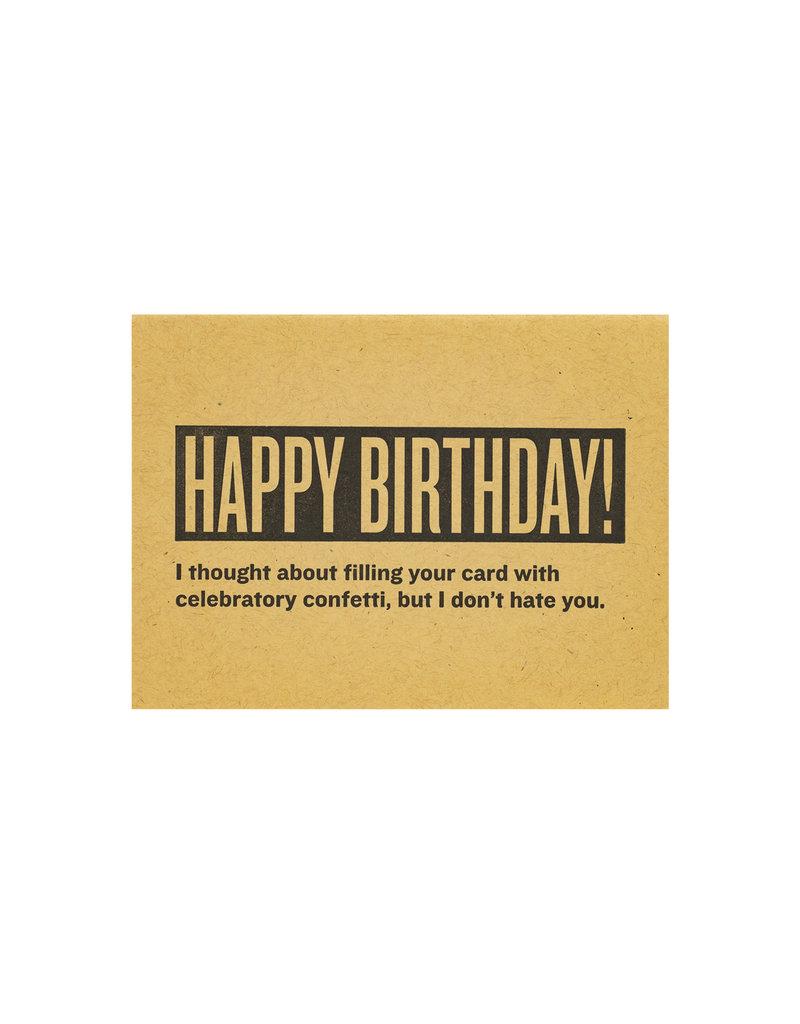 Constellation and Co. Happy Birthday! CONFETTI