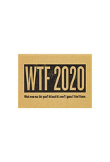 Constellation and Co. WTF 2020 New Year's Card