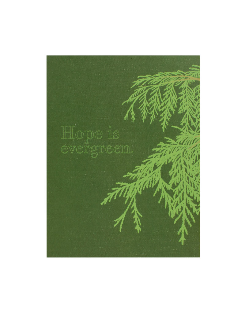 Constellation and Co. Hope Is Evergreen Card