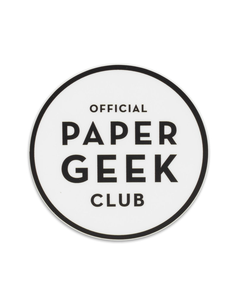 Constellation and Co. Paper Geek Sticker