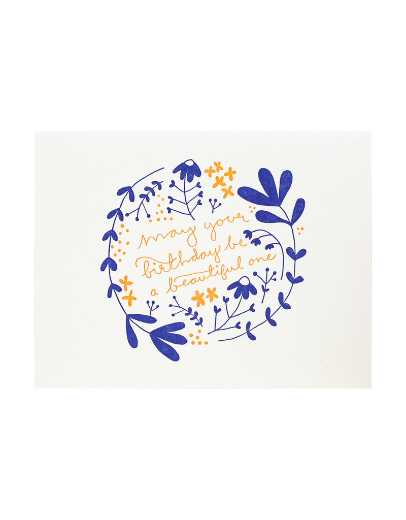 Folio Press & Paperie Beautiful Birthday Floral