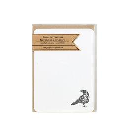 Folio Press & Paperie Crow notes