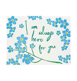 Folio Press & Paperie Forget Me Not