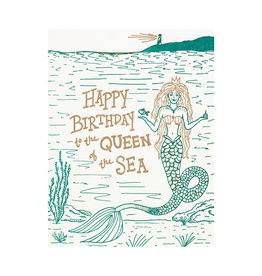 Folio Press & Paperie Happy Birthday to the Queen of the Sea