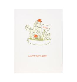 Lark Press Happy Birthday Cactus