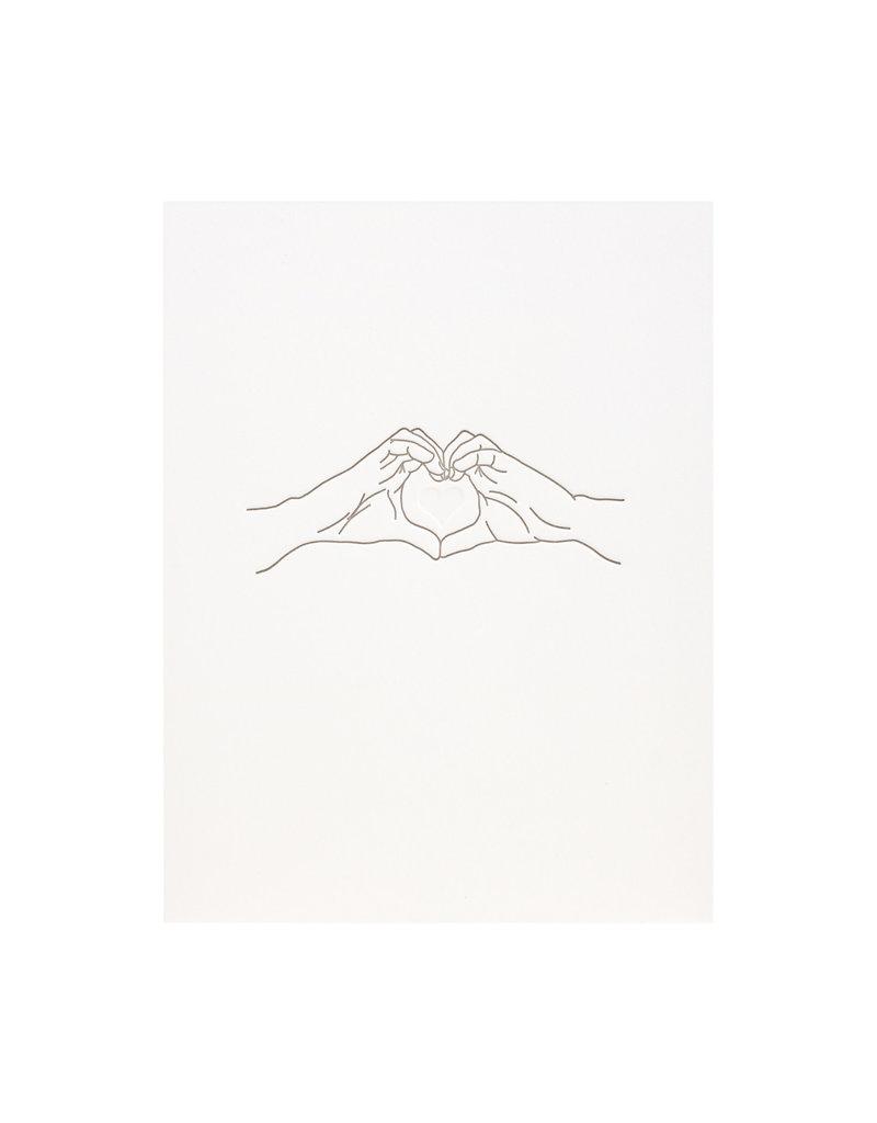 Lark Press Love is Love hands
