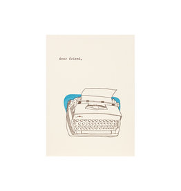 Lark Press Dear Friend Typewriter