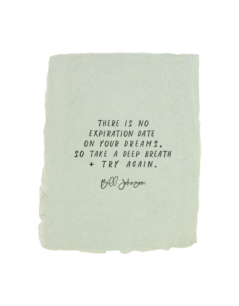 Paper Baristas No Expiration Date on Dreams
