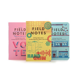 Field Notes United States of Letterpress set C - 3 pack