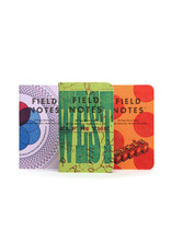 Field Notes {coming soon} United States of Letterpress set A - 3 pack