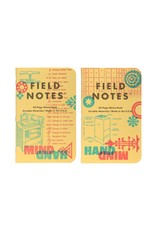 Field Notes {coming soon} United States of Letterpress set C - 3 pack