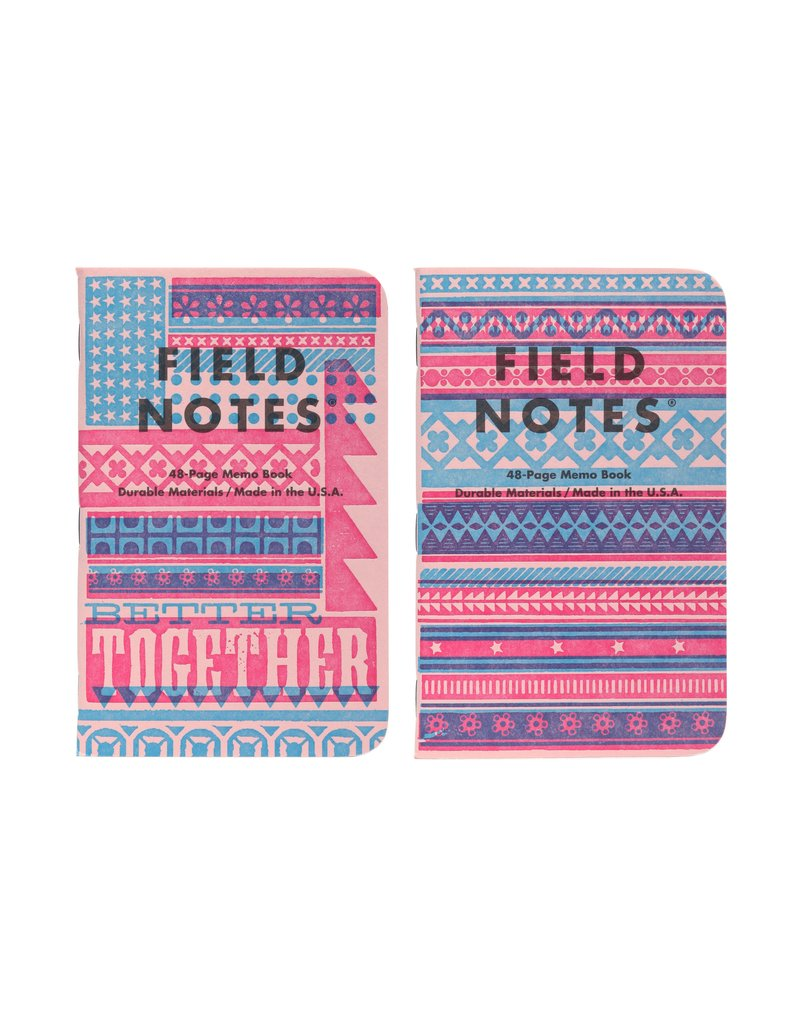 Field Notes {coming soon} United States of Letterpress set B - 3 pack