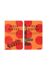 Field Notes United States of Letterpress set A - 3 pack