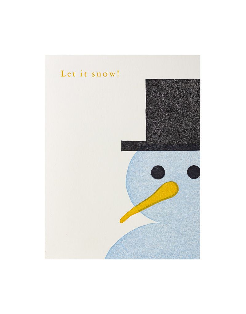 PushMePullYou Press Snowman