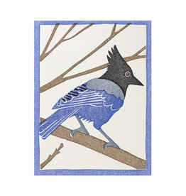PushMePullYou Press Steller's Jay