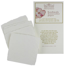 """Oblation Papers & Press handmade 140# watercolor paper pack 3"""" squares"""