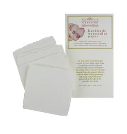 "Oblation Papers & Press handmade 140# watercolor paper pack 3"" squares"