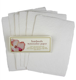"""Oblation Papers & Press handmade 140# watercolor paper packs 5 x 7"""""""