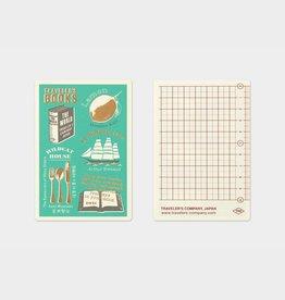 Traveler's Company Plastic Sheet 2021 Passport