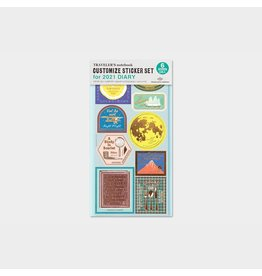 Traveler's Company Customized Sticker Set 2021