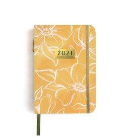 1Canoe2 Golden Poppy Petite Planner 2021
