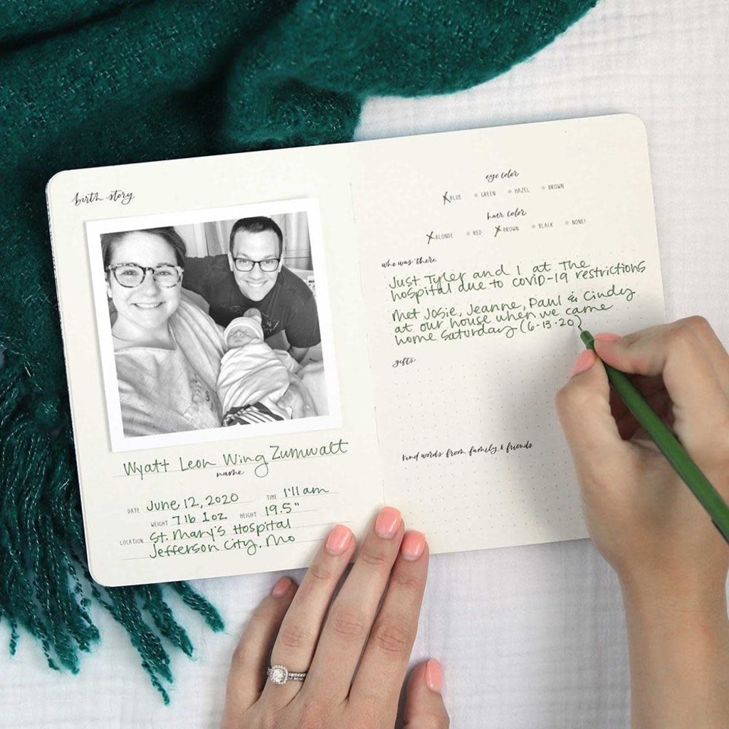 1Canoe2 Baby Guided Journal
