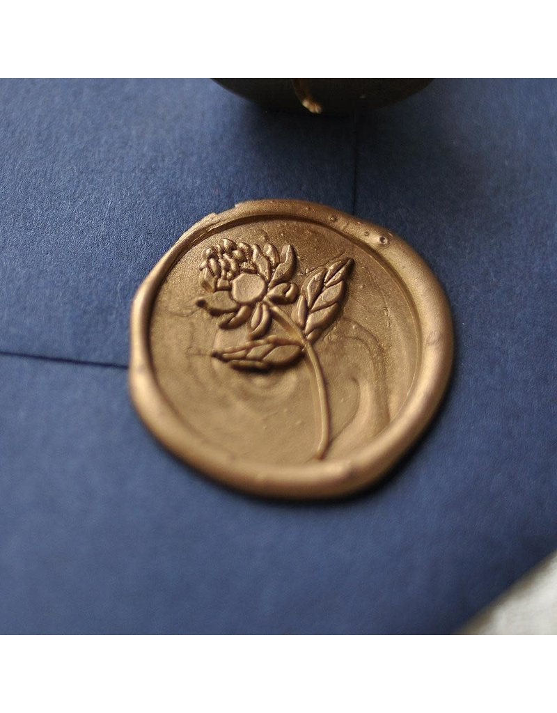Stamptitude Peony Wax Seal Set