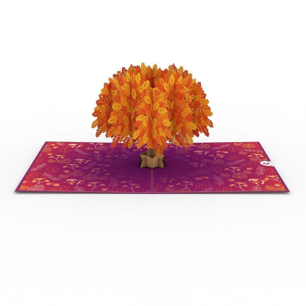 Lovepop Oak Tree Fall Pop-Up Card