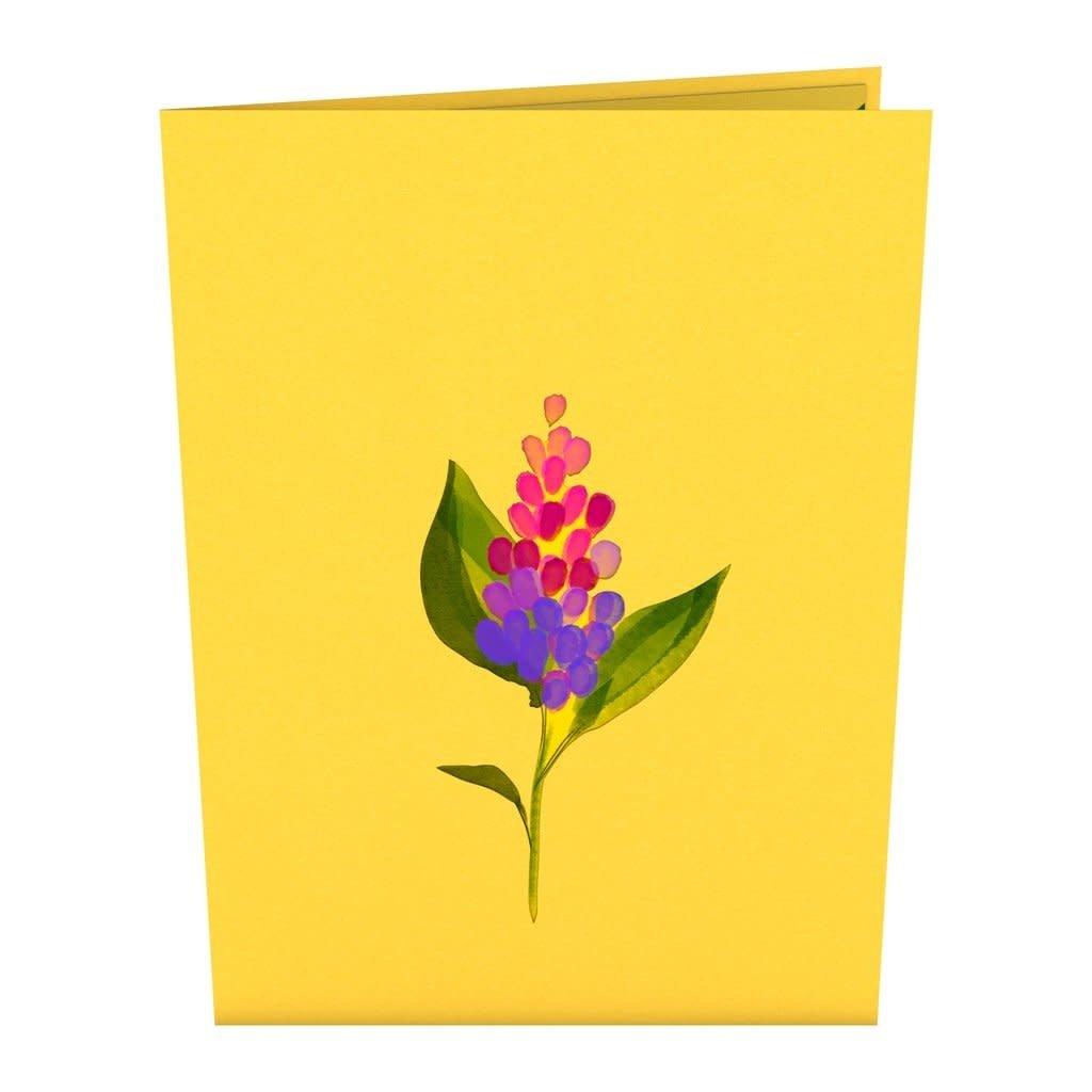 Lovepop Lilacs  Pop-Up Card