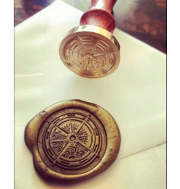 heypenman Vintage Compass Wax Seal Stamp