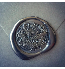 heypenman Flourished Bird Wax Seal Stamp