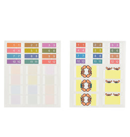 Hobonichi [sold out] Hobonichi Index Stickers