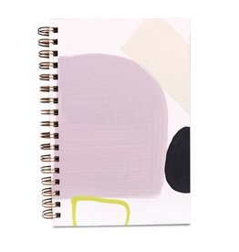 Moglea Hand Painted Purple Rain Notebook