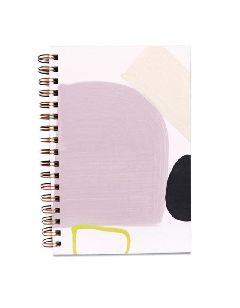 Moglea Hand Painted Purple Rain Notebook