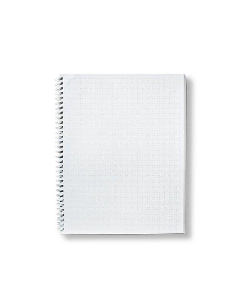 Moglea Hand painted Cosmos Dot Blue sketchbook