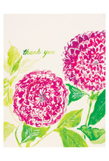 Isa Salazar Purple Dahlias Thank You
