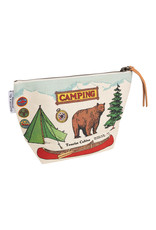 cavallini Camping Vintage Pouch
