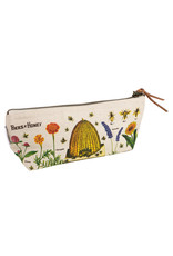 cavallini Bees and Honey Mini Pouch